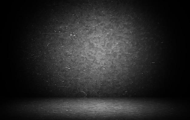 Donkere grunge textuur muur close-up - goed gebruiken als digitale studio achtergrond