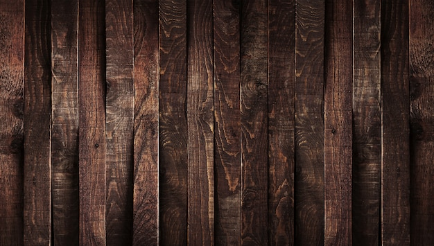 Donkere houten achtergrond