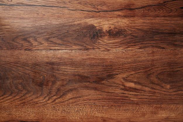Donkere houten rustieke achtergrond. houten tafel.