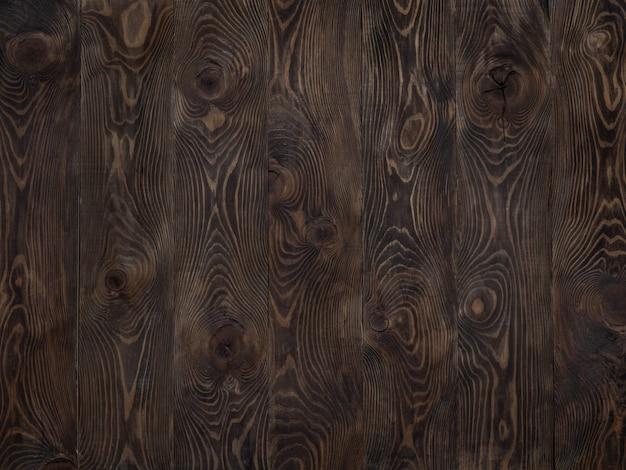 Donkere houten textuur lege oppervlakte