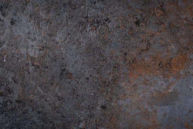 Donkere oppervlaktetextuur van oude steen, grunge muur of vloer