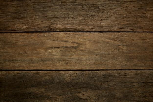 Donkere oude houten textuur als achtergrond