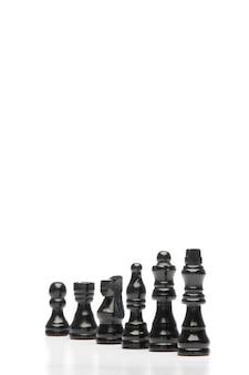 Donkere stukken schaak