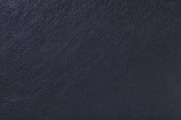 Donkergrijs van natuurlijke leisteen. textuur zwarte steen