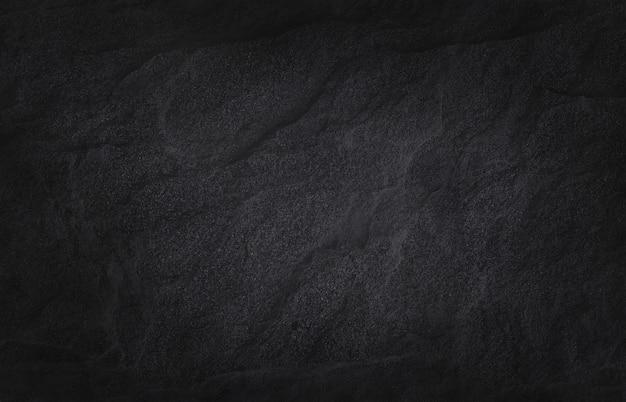 Donkergrijs zwart leisteen textuur met hoge resolutie, natuurstenen muur.