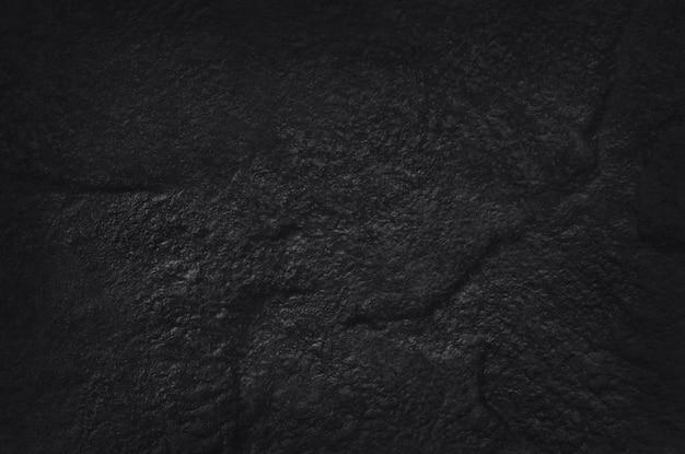 Donkergrijs zwarte leisteen textuur met hoge resolutie, muur van natuurlijke zwarte stenen muur.