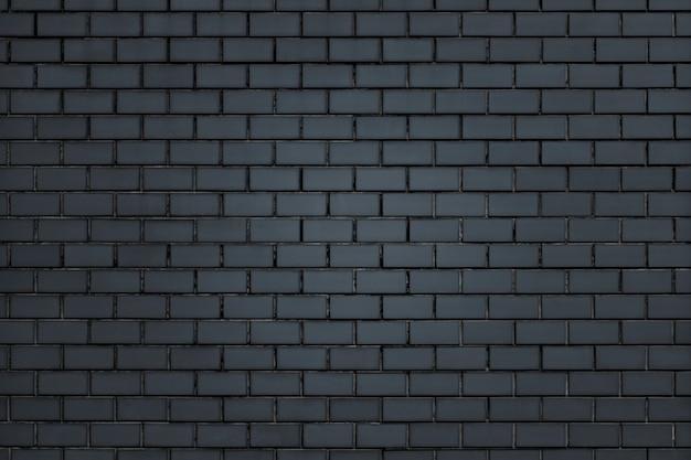 Donkergrijze bakstenen muur getextureerde achtergrond