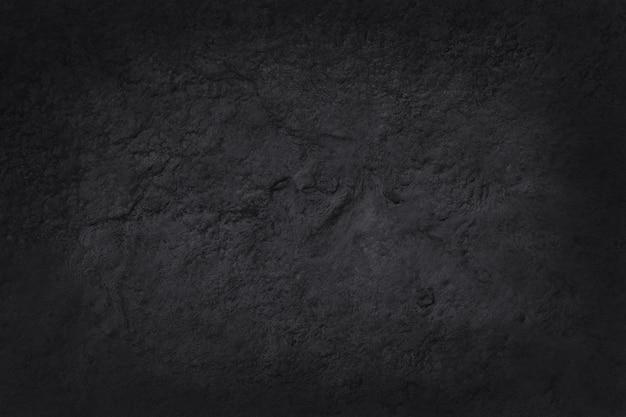 Donkergrijze zwarte leisteentextuur met hoge resolutie, natuurstenen muur.