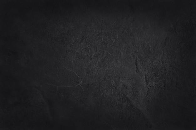 Donkergrijze zwarte leitextuur, achtergrond van natuurlijke zwarte steenmuur.