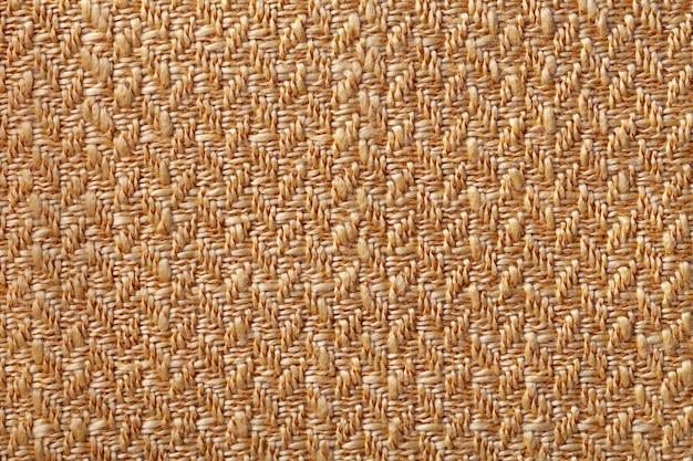 Donkeroranje rieten textiel