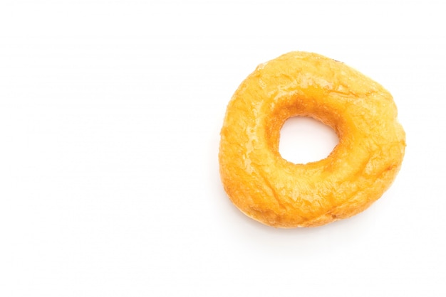 Donut geïsoleerd op wit