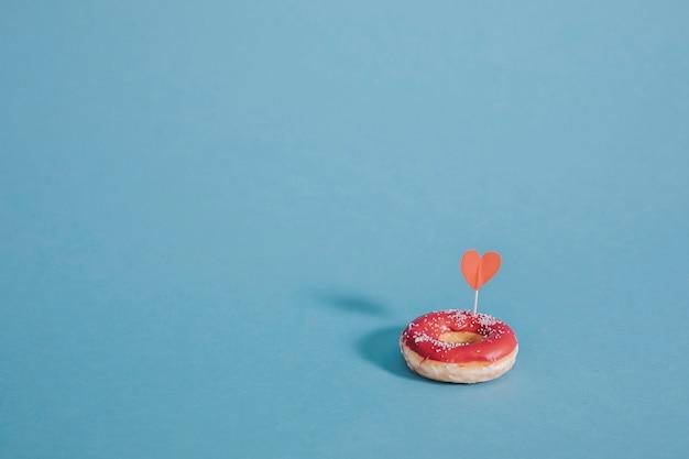 Donut met een hart