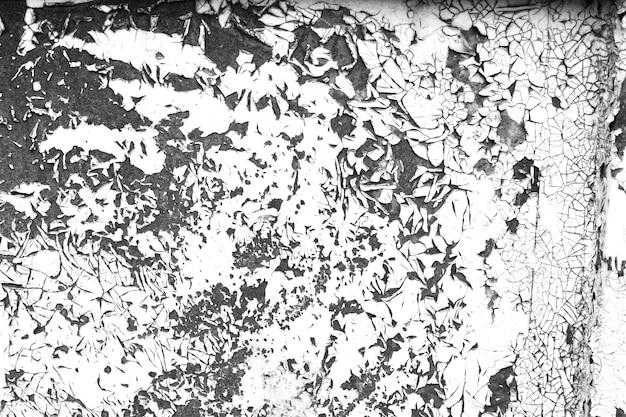 Doorstaan verf contrast zwart-witte textuur