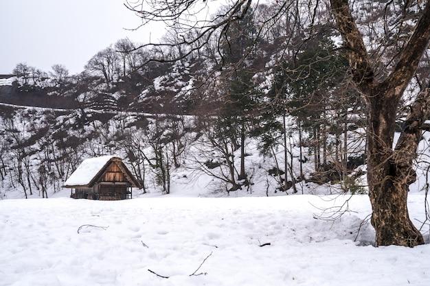 Dorpen van shirakawago en gokayama