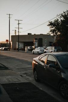 Downtown wijk in los angeles, californië