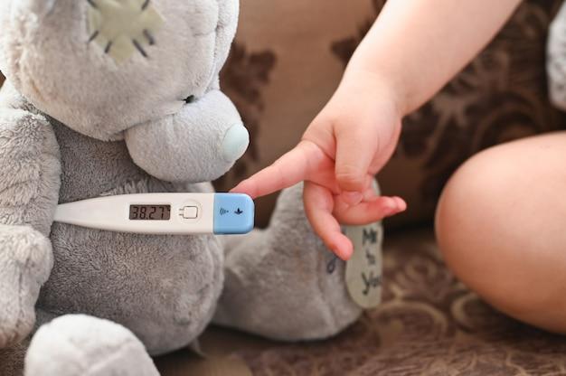 Draag met een thermometer
