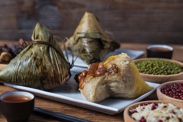 Dragon boat festival rijst dumplings