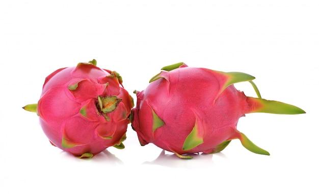 Dragon fruit geïsoleerd