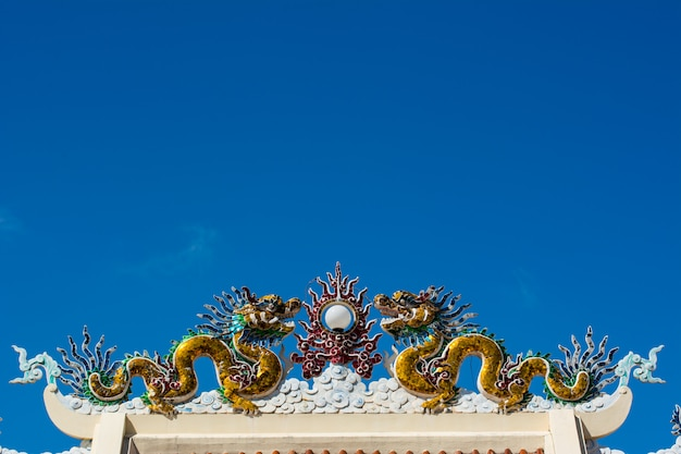 Dragon in de lucht
