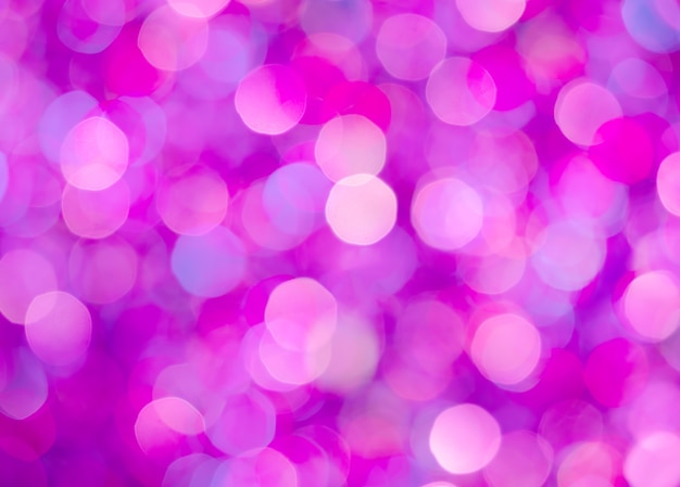 Dramatische roze bokeh achtergrond