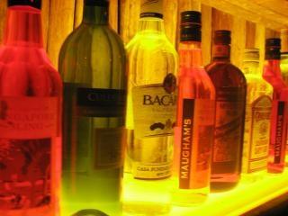 Drank op het huis, de bar