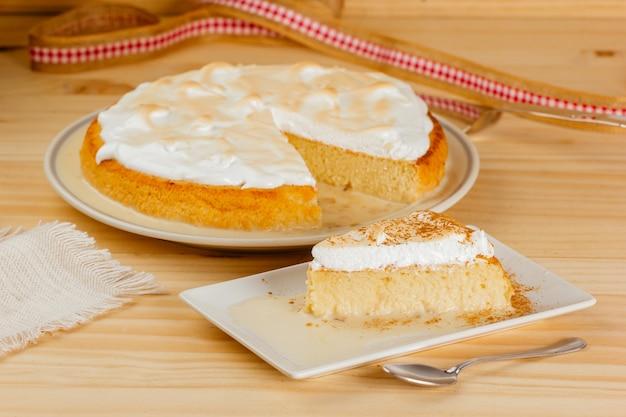 Drie melkcake, typisch latijns-amerikaans dessert