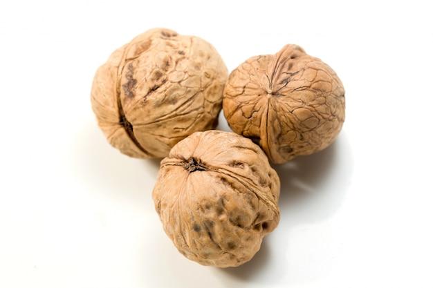 Drie walnoten