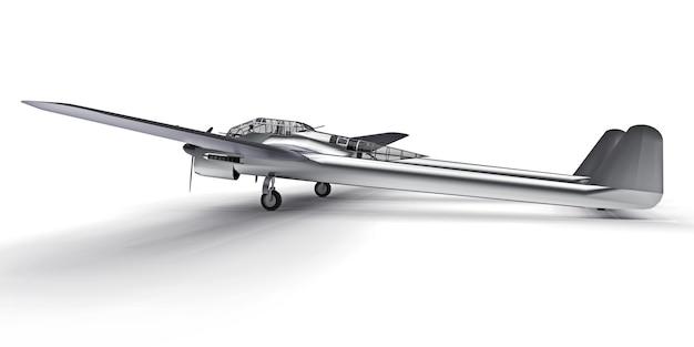 Driedimensionaal model van het bommenwerpersvliegtuig uit de tweede wereldoorlog