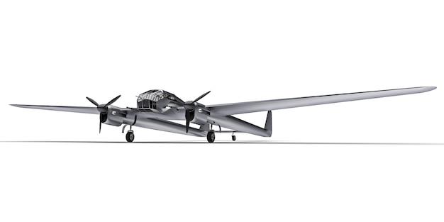 Driedimensionaal model van het bommenwerpersvliegtuig van de tweede wereldoorlog