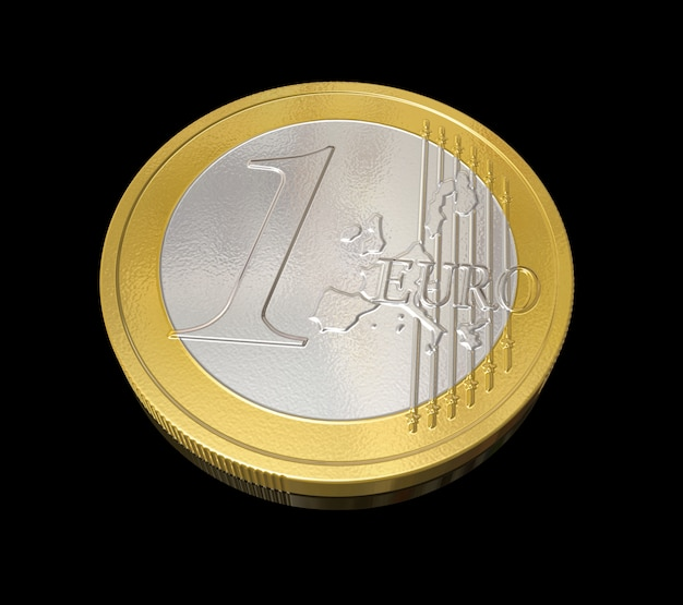 Driedimensionale euromunt