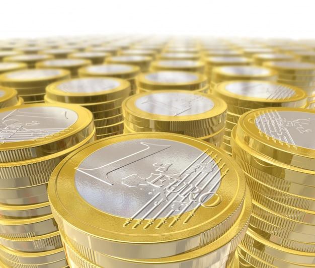Driedimensionale euromunten