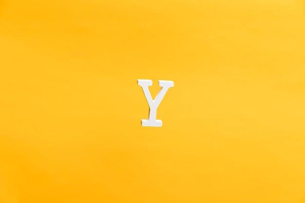 Drijvende letter w achtergrond concept