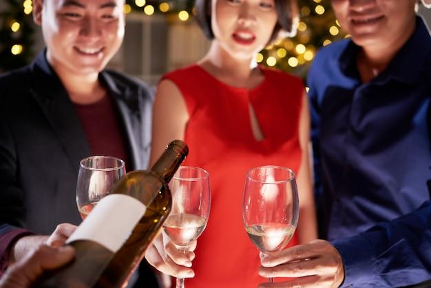 Drinken op feestje