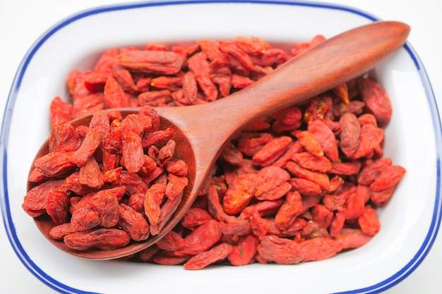 Droge rode gojibessen voor een gezond dieet