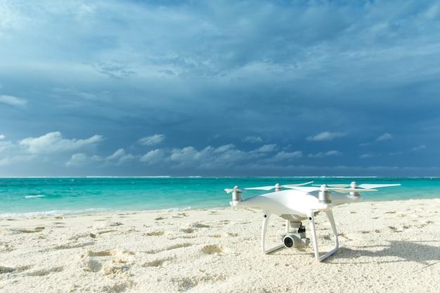 Drone op het strand