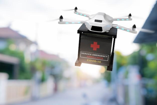 Drone technologie engineering 3d-rendering