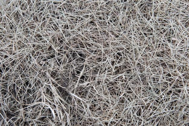 Droog geweven gras en achtergrond.