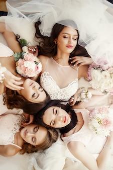 Droom symbool bruidsmeisje schoonheids licht