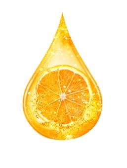 Druppel citrusserum