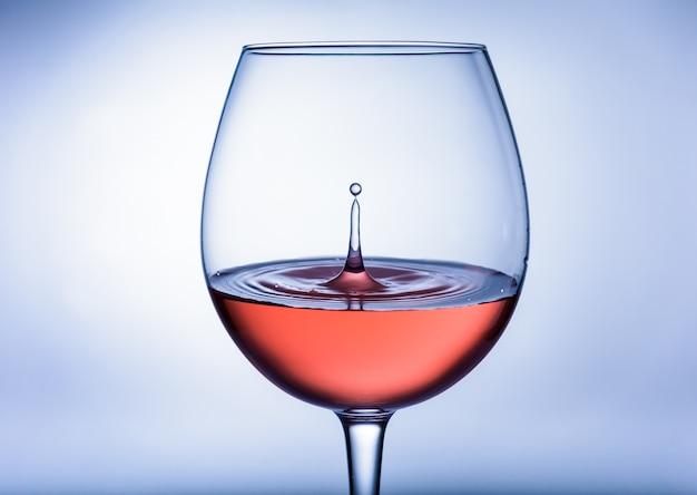 Druppel wijn