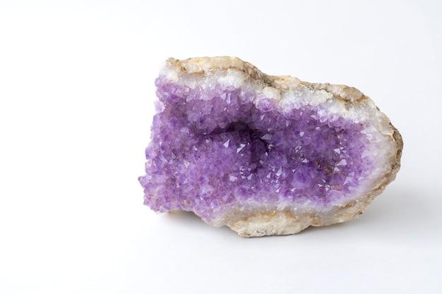 Druse paarse amethist