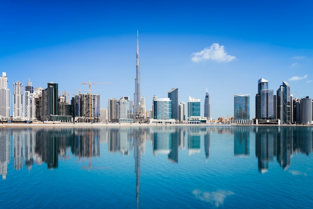 Dubai binnenstad