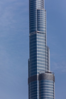 Dubai burj khalifa het hoogste gebouw ter wereld