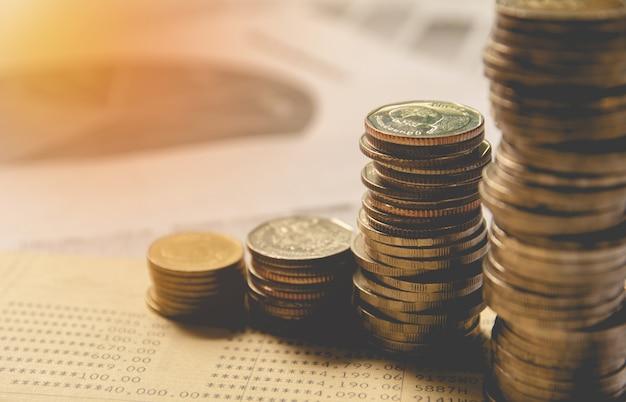 Dubbele blootstelling financiële indexen met stapelmuntstuk