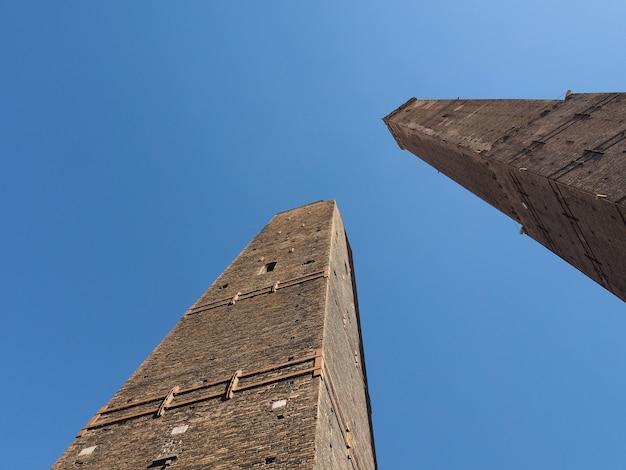Due torri (twee torens) in bologna