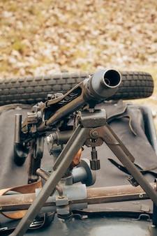 Duits machinegeweer uit de tweede wereldoorlog