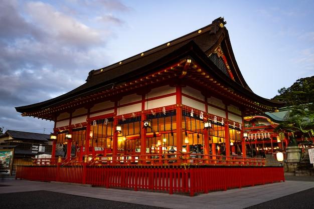 Duizend jaar heritage temple in kyoto, japan