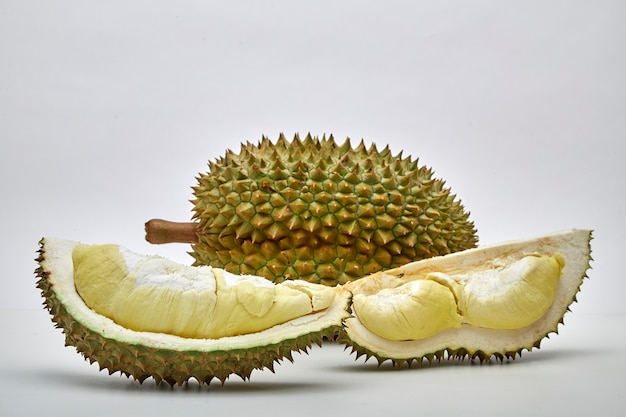 Durian staat bekend als king of friut in thailand