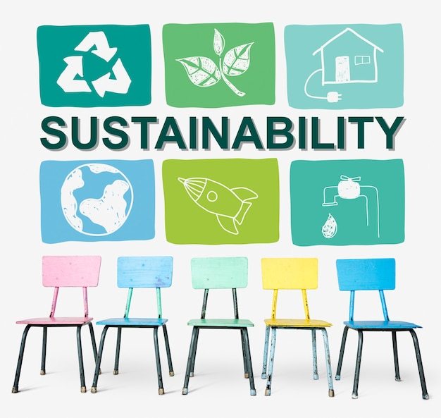 Duurzaamheid ecologie save environment concept