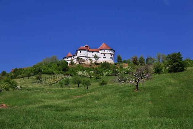 Dvor veliki tabor is het kasteel in kroatië Premium Foto